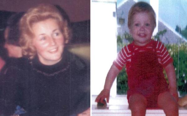 Renee MacRae and her son Andrew