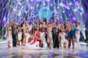 The new batch of Strictly dancers ... but soap star Kelvin Fletcher will join them later