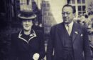 Sir Robert Watson-Watt with his first wife Margaret
