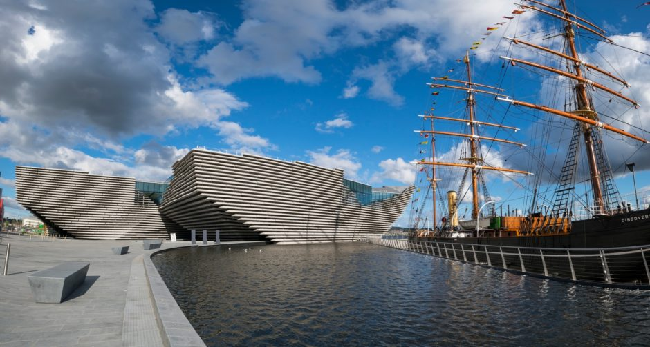 V&A Dundee á Scotland's first design museum