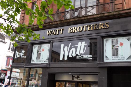 Watt Brothers department store in Glasgow