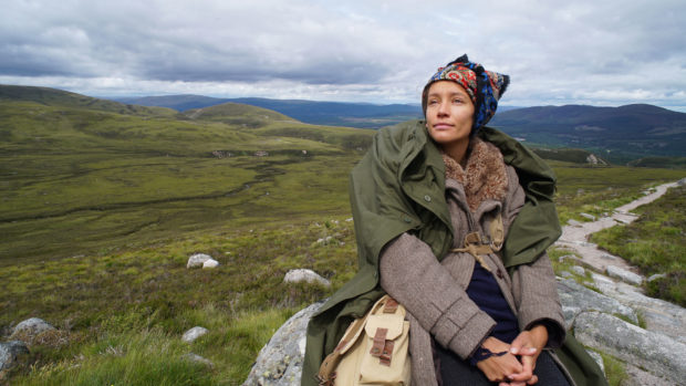 Photo of Elise in Cairngorms National Park.