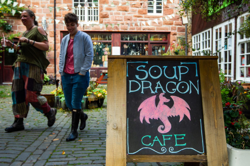 The Soup Dragon, near Drymen