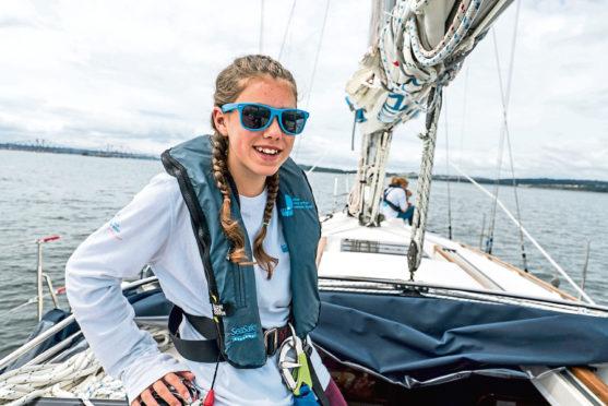 Elita McFarlane sails around Britain with the Ellen MacArthur Cancer Trust this summer