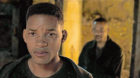 Will Smith plays both lead roles