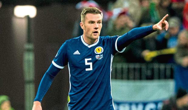Scotland's Mikey Devlin