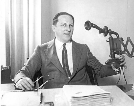 American professional gambler Arnold Rothstein. He was accused of masterminding the Black Sox baseball scandal of 1919, in which eight team members of the Chicago White Sox confessed to accepting bribes to throw the World Series to the Cincinnati Reds.