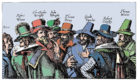Guy Fawkes and the Gunpowder Plotters, 1605.