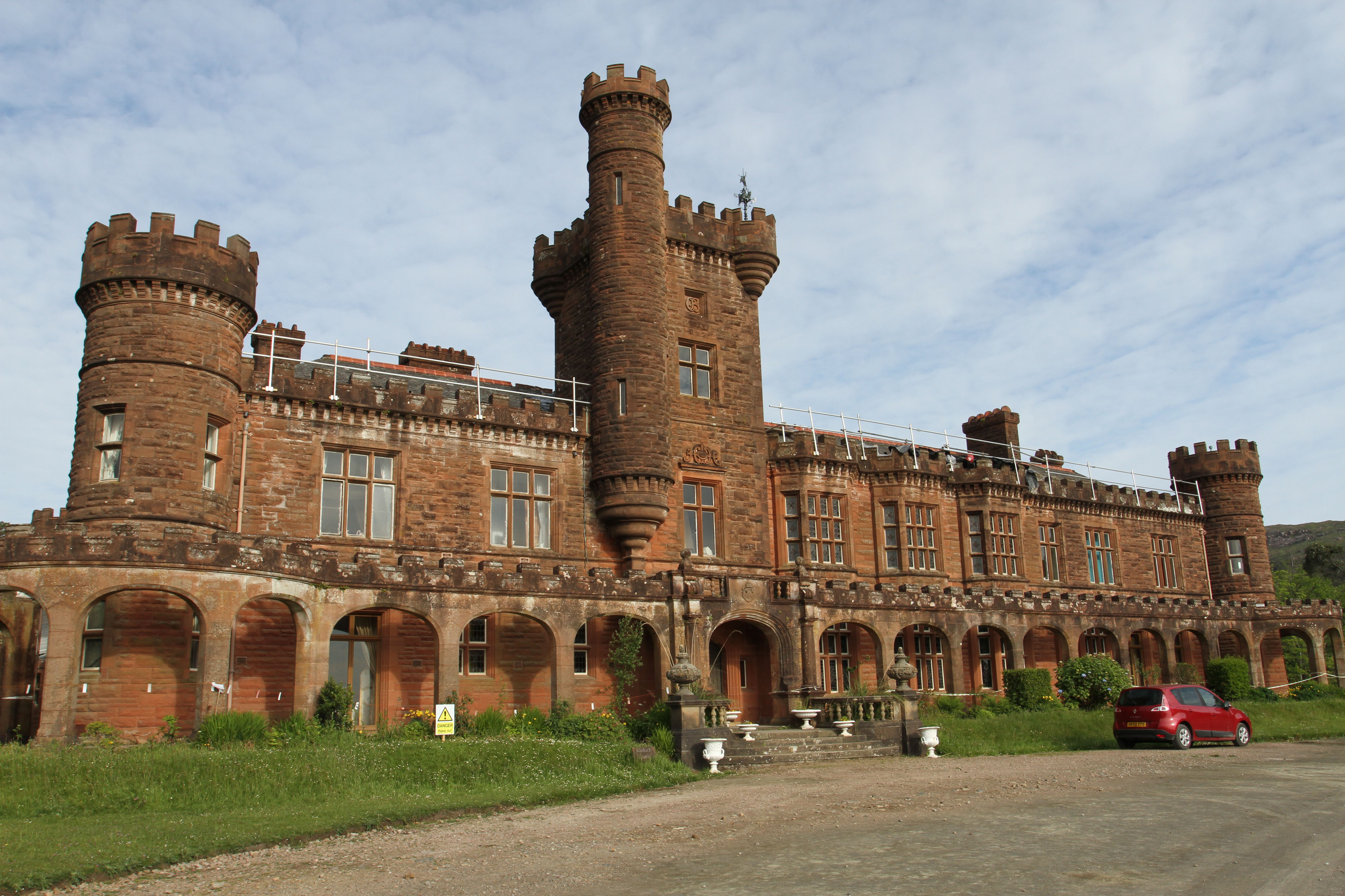 Kinloch Castle Friends group has raised almost £7m to restore part of the site, with plans to restore the rest of the castle if it is transferred to public ownership