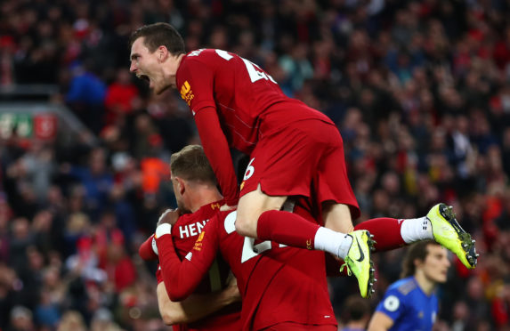 Liverpool face Leicester on Boxing Day