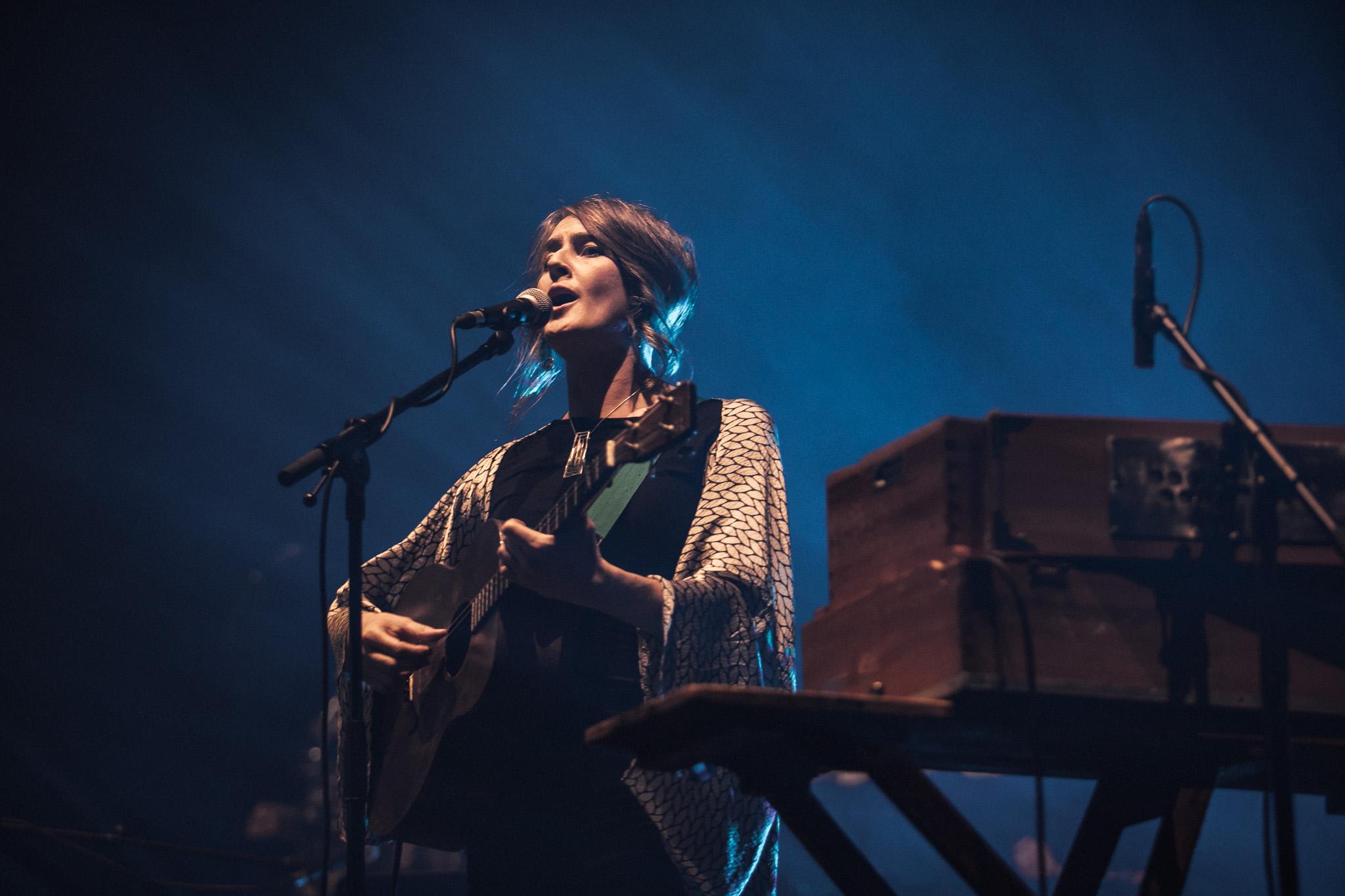 Karine on stage