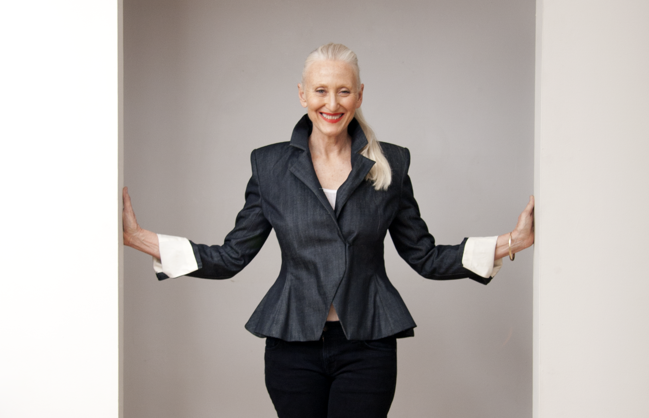 Fashion model Gillean McLeod, now 63, says her confidence continues to grow