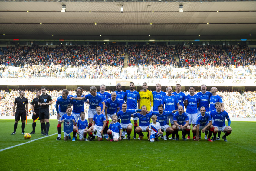 Rangers Legends squad