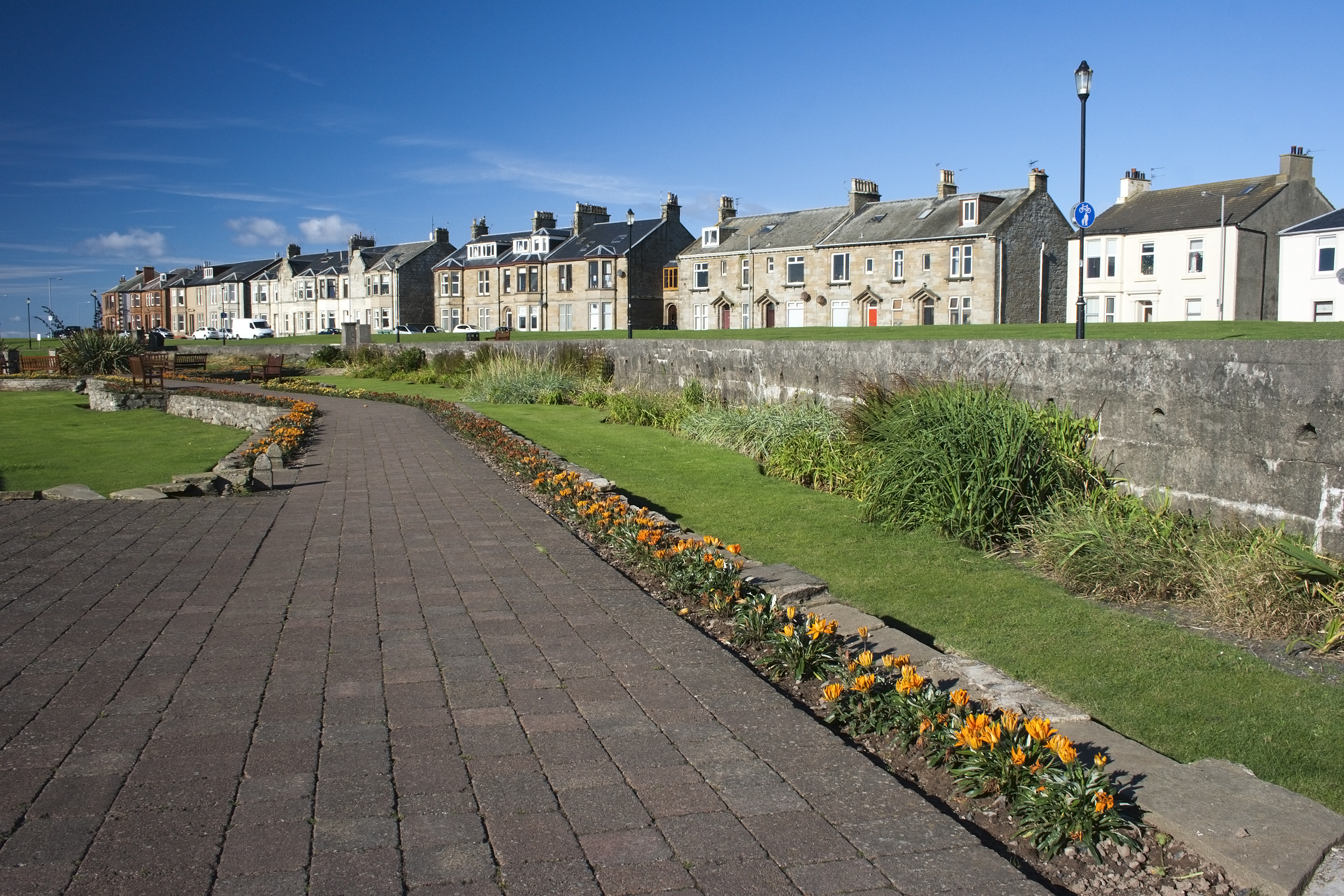 The pretty town of Troon