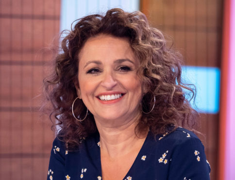 Life was a real drag for Nadia Sawalha - until she managed to stub out smoking.