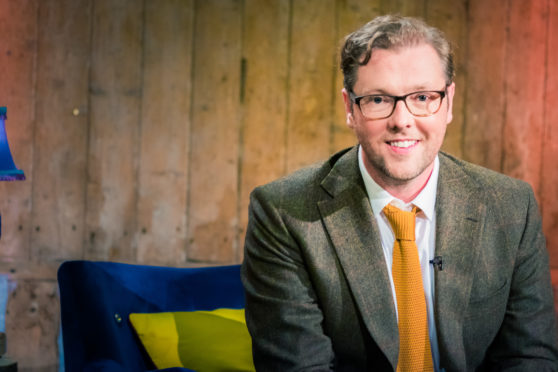 The Big Scottish Book Club host Damian Barr