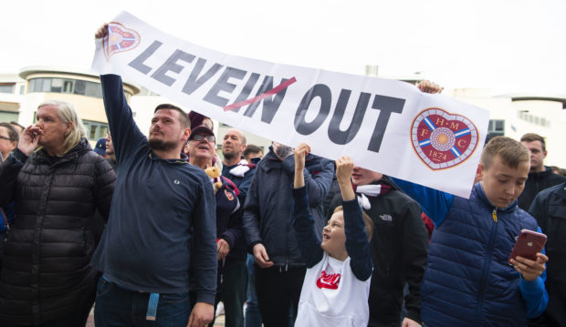 Jambos fans wanted Craig Levein out two months ago