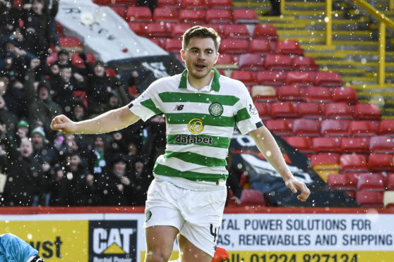 James Forrest started the week by scoring against Aberdeen, then signed a new four-year contract