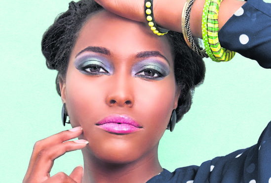 Smoky or colourful eyes are this season's look