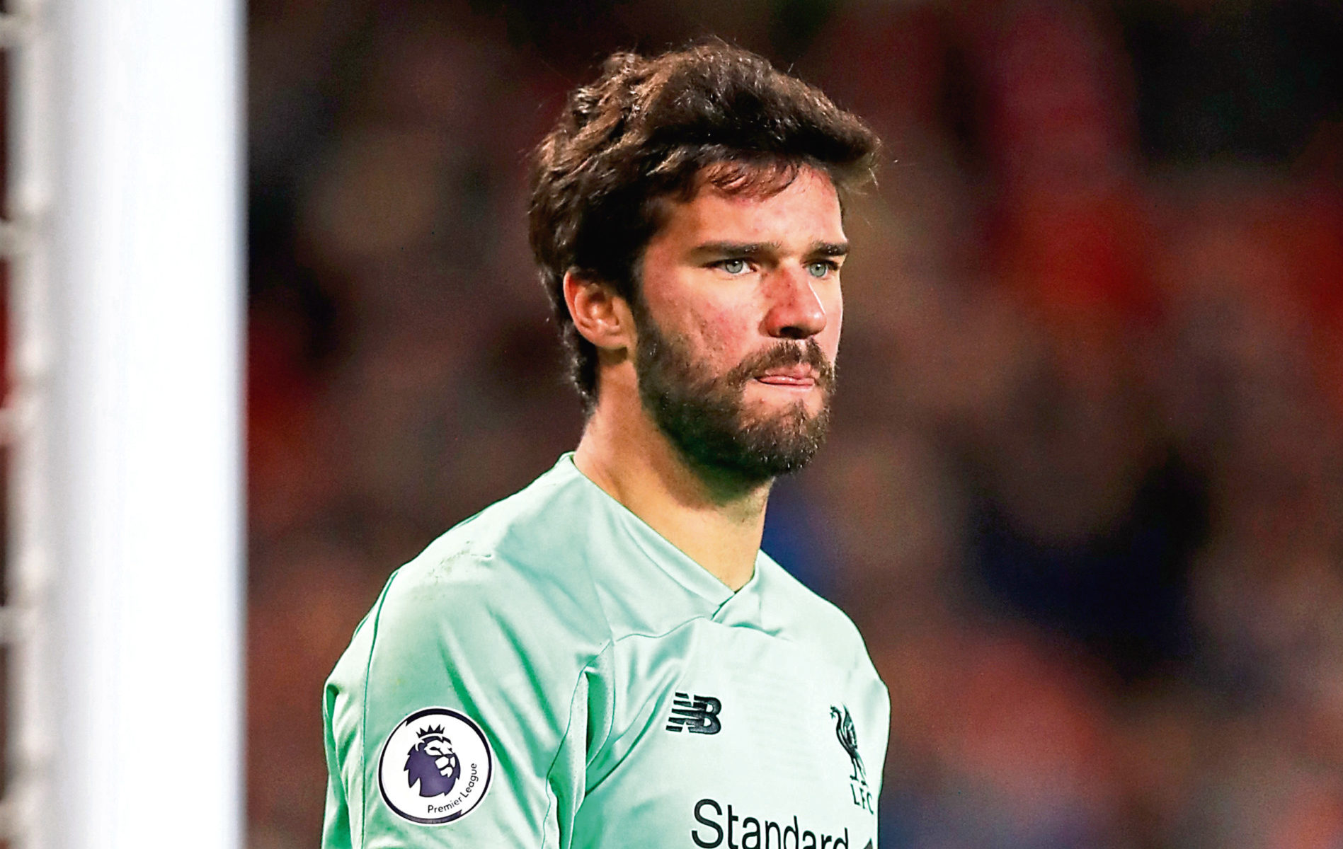 Liverpool goalkeeper Alisson