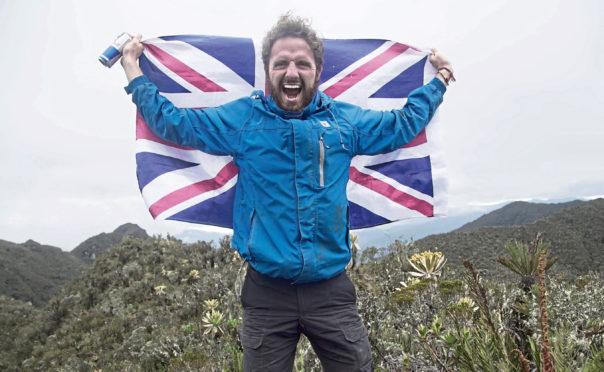 Thomas Palmer at Nevado De Huila, Colombia