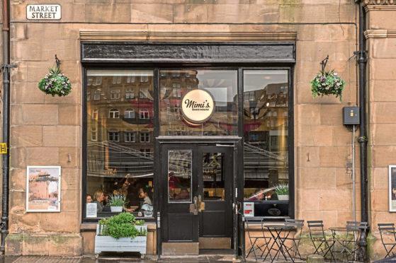 Mimi's Bakehouse, at the CCA, Market Street, Edinburgh.