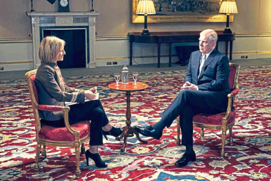 Prince Andrew sat down with Emily Maitlis to talk about the Epstein scandal