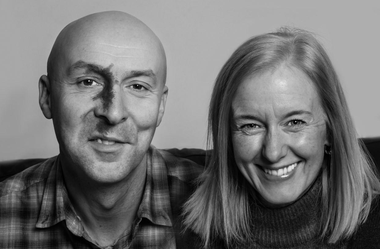Chris Brookmyre and Dr Marisa Haetzman