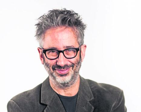 David Baddiel.