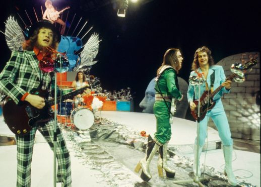 Back in the day: Slade belt out hits in the 1970s