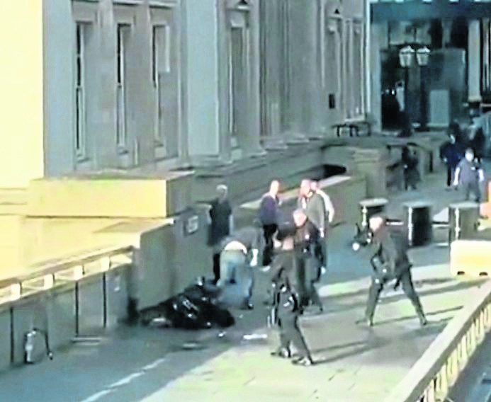 The London Bridge Terror attack.