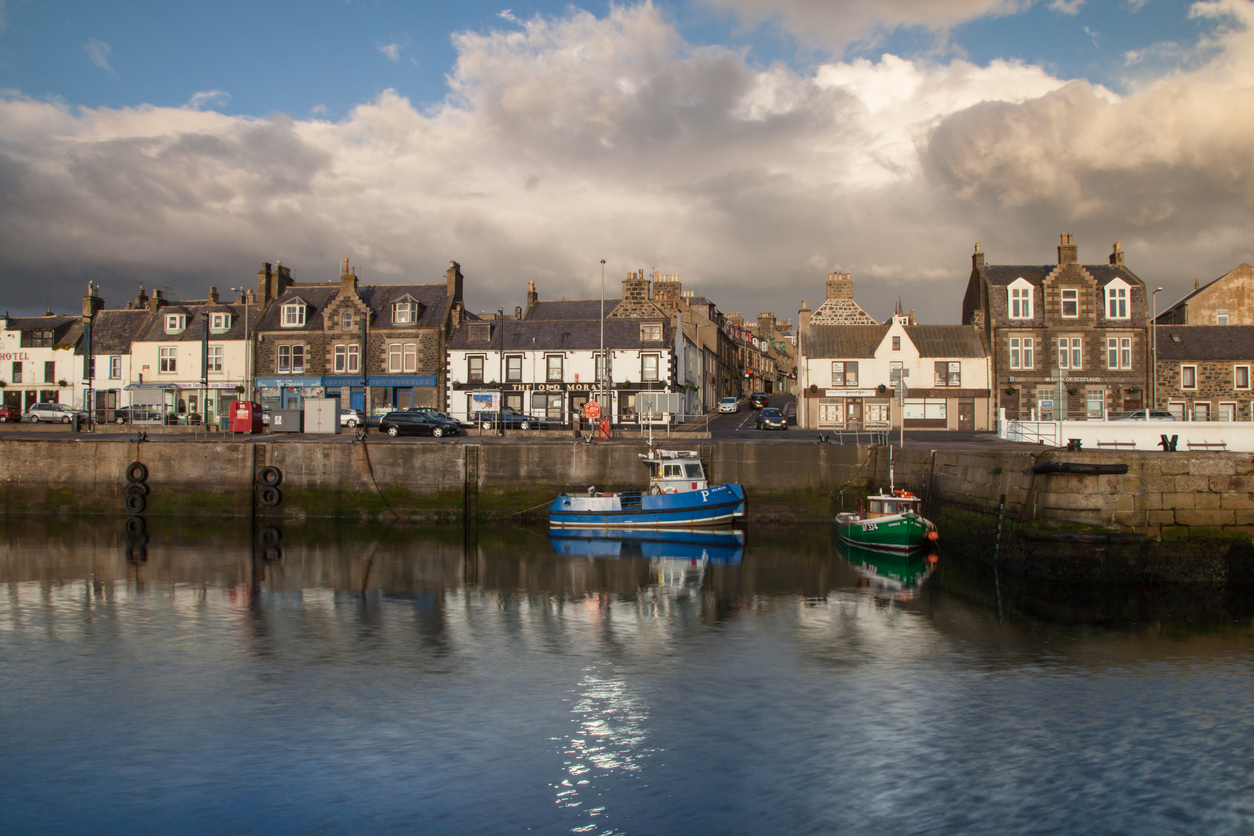 Tony Masson drowned off the coast of MacDuff, a seaside town in the north of Scotland.