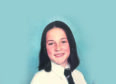 Domestic violence victim Joanne Gallacher aged 13 as a pupil at St Andrew's School in East Kilbride.