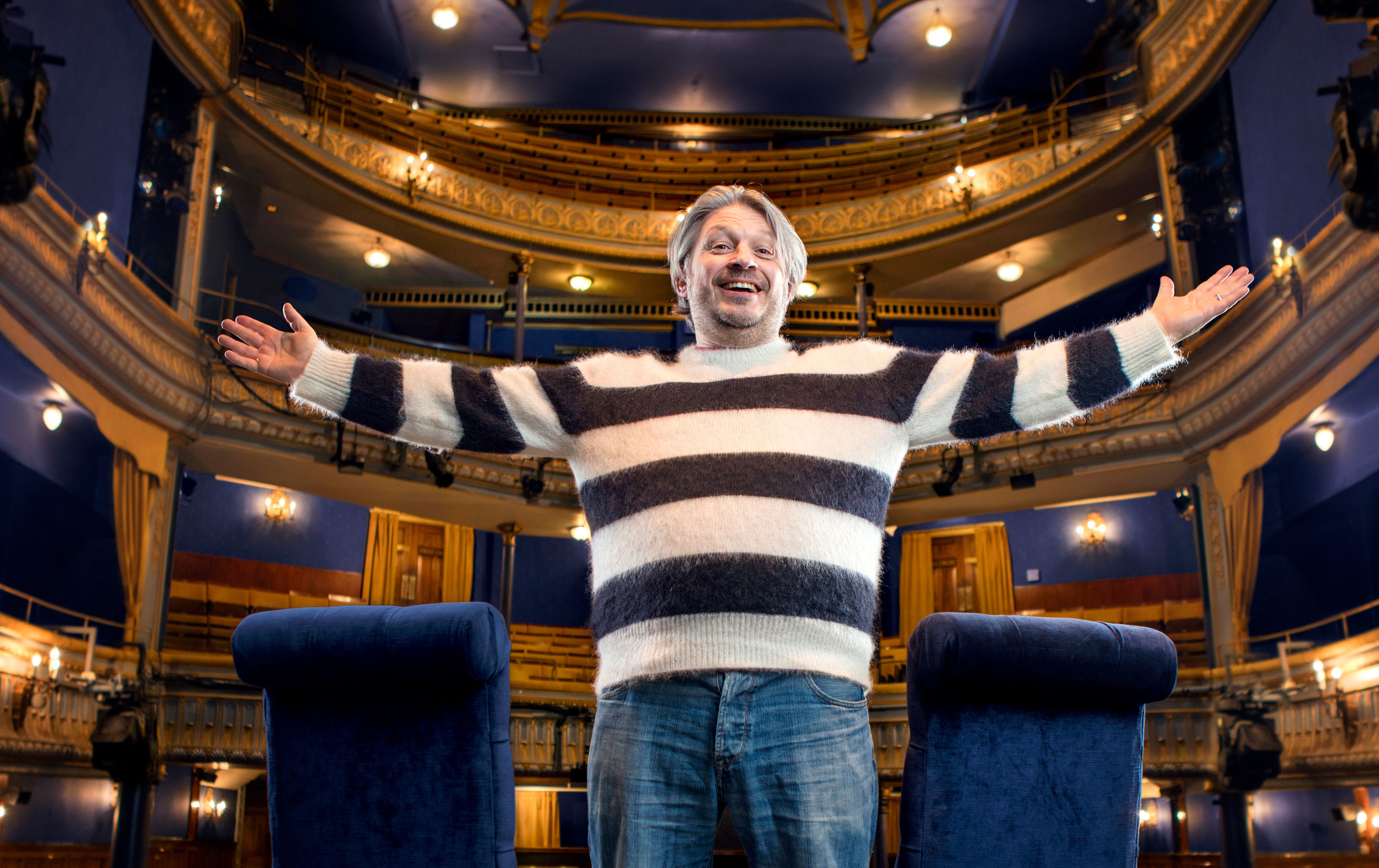 Richard Herring is taking his hit podcast on tour