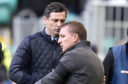 Jack Ross with Brendan Rodgers