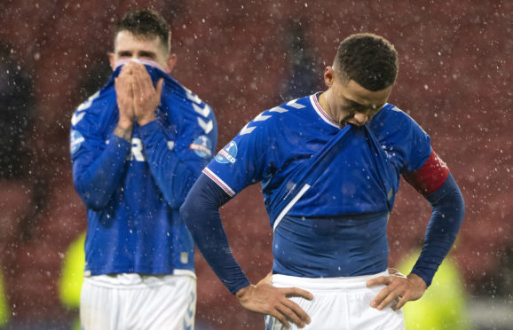 The anguish of James Tavernier and Ryan Jack after the League Cup Final was plain to see