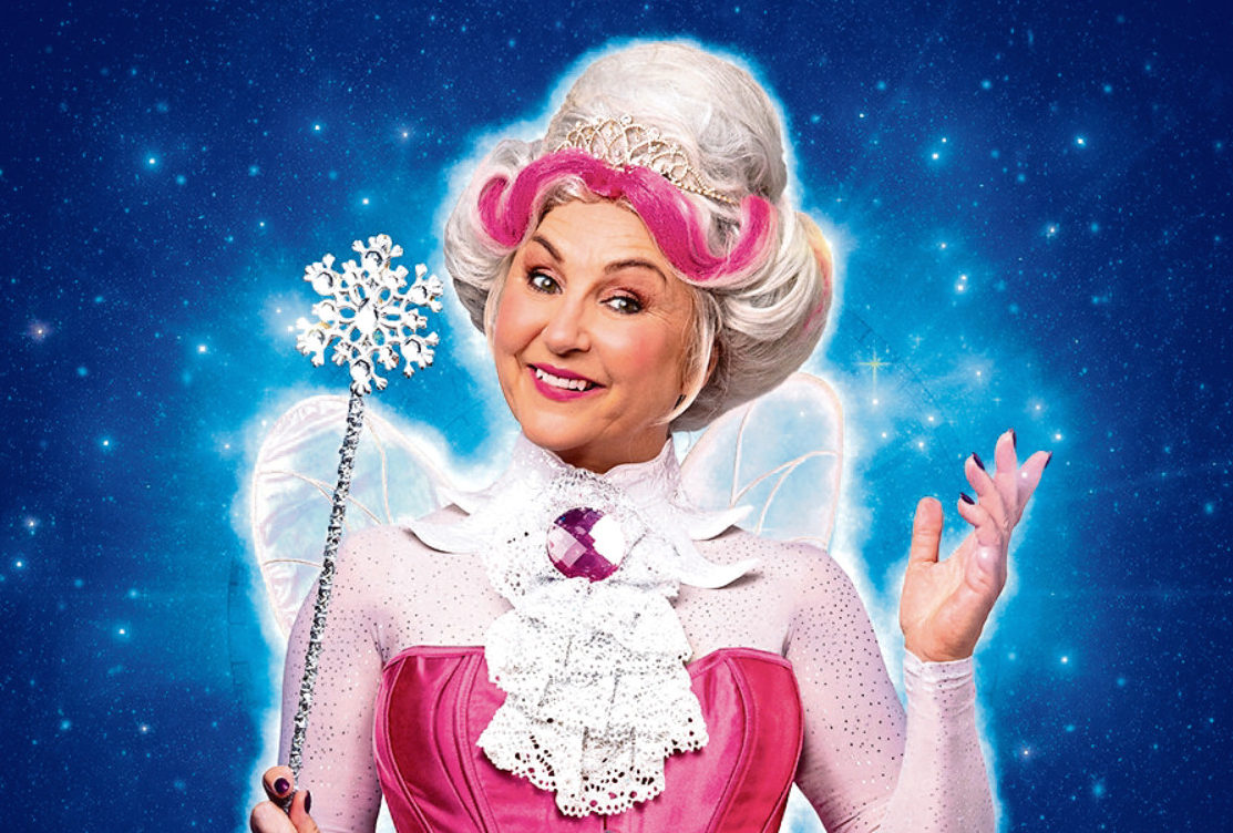 Lesley's set to make her panto debut as The Fairy Godmother
