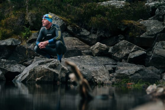 Outdoor wild swimming has had a huge benefit to Colin McKinnon's mental wellbeing