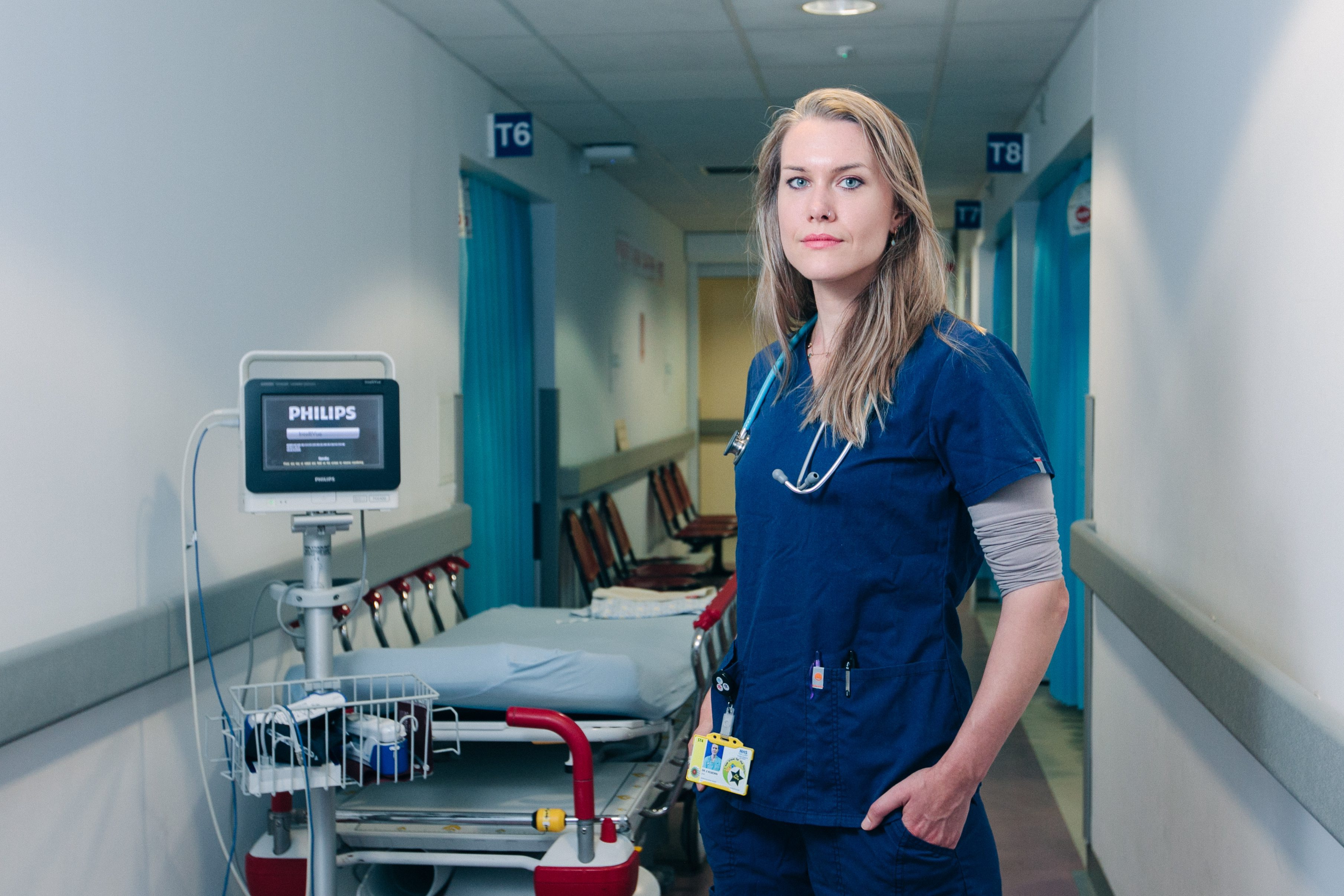 Dr Erin Kilborn back at Glasgow Royal Infirmary A&E unit after stint in Syria