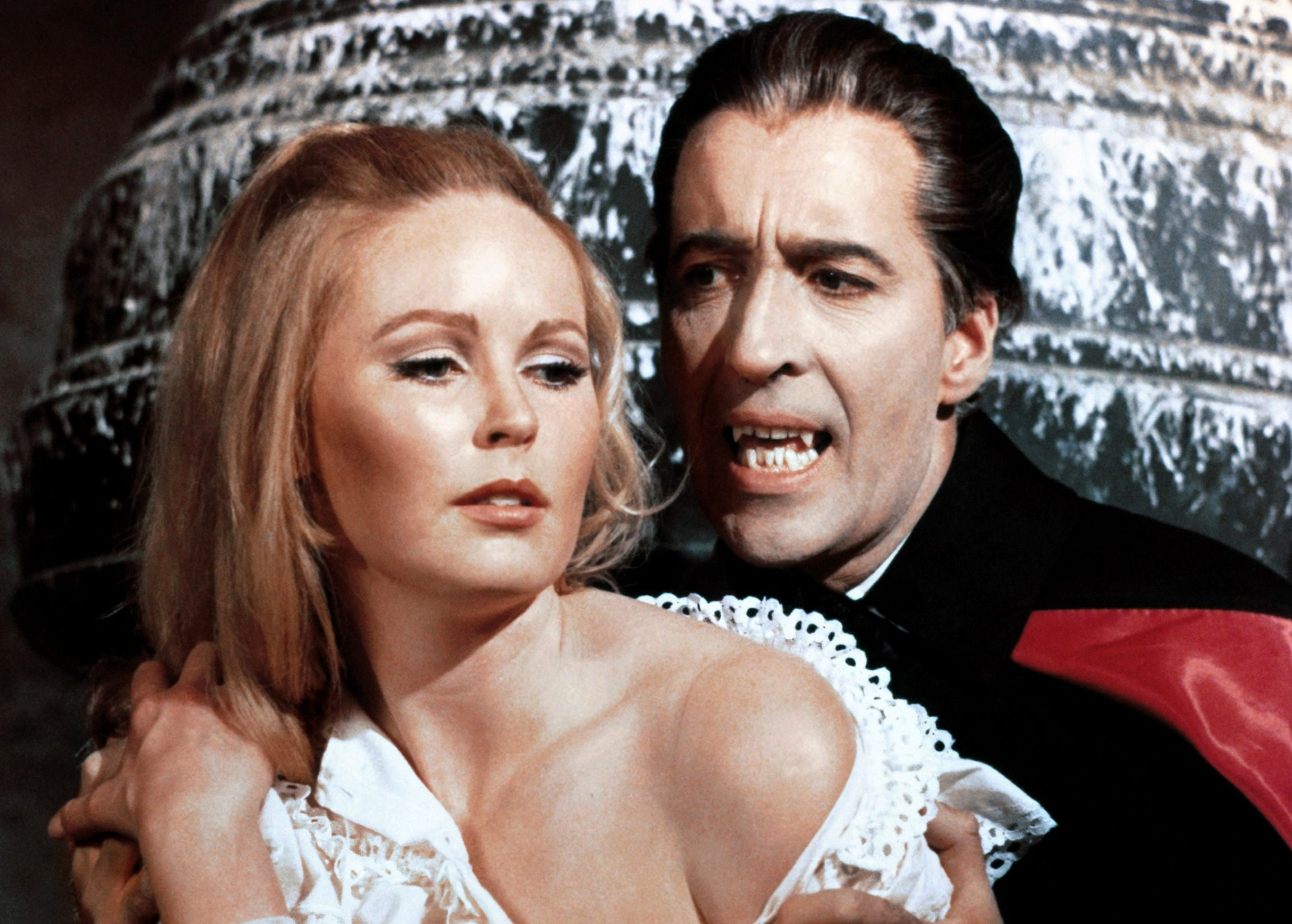 Christopher Lee stars as Count Dracula in the famous 1958 version of Bram Stoker's gothic horror novel.