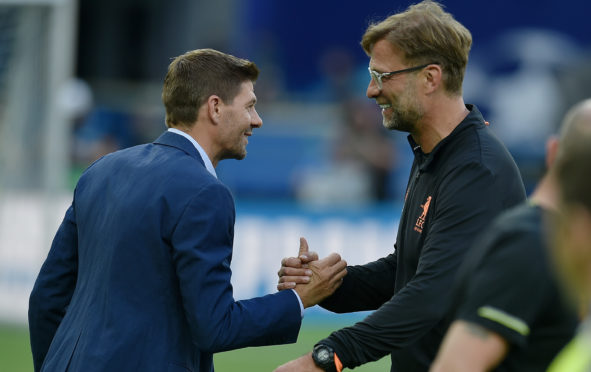 Steven Gerrard and Jurgen Klopp share mutual respect – and now the same length of contract