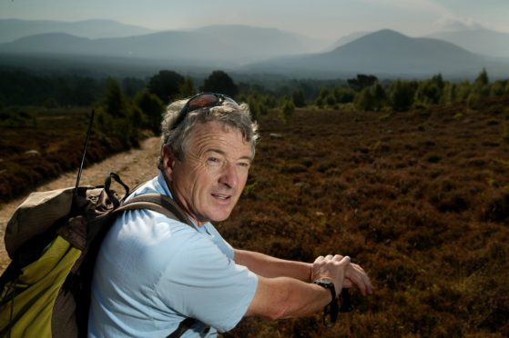 Leader of the Cairngorm Rescue team, John Allen