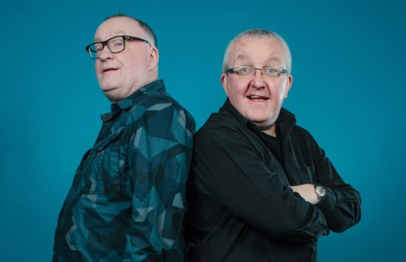 Stuart Cosgrove (left) and Tam Cowan, who are celebrating 25 years of Off the Ball