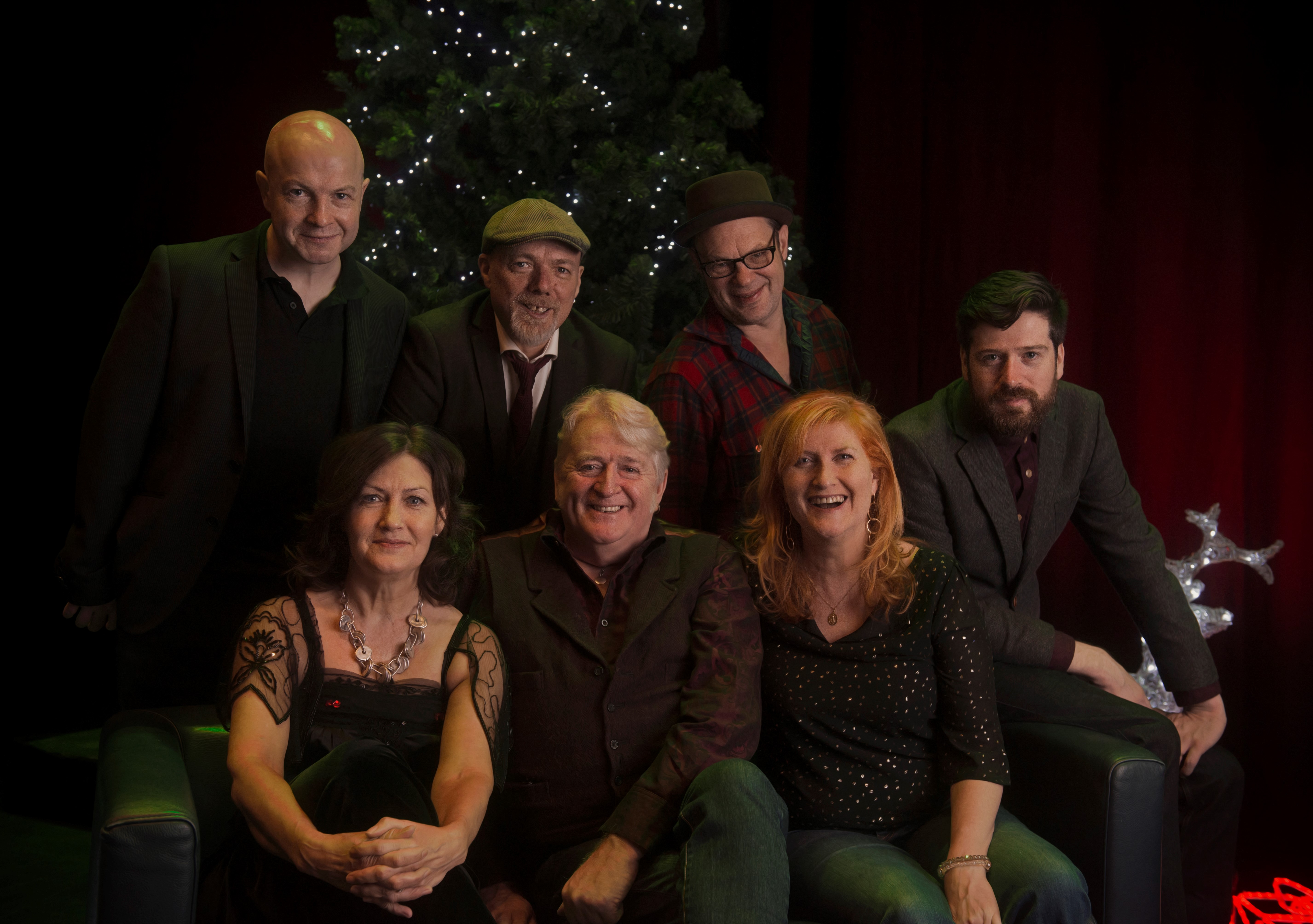 Phil Cunningham, centre, with familiar pals joining his Christmas songbook tour