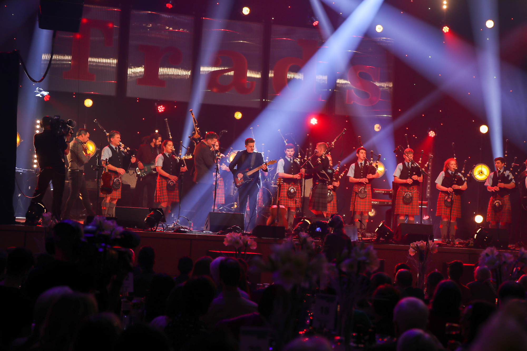 Skerryvore open the night's event