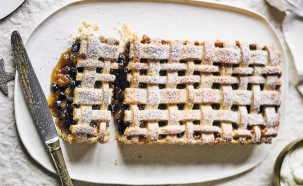 Lattice Topped Mince Pie