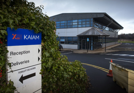 Kaiam's offices in Livingston where 300 staff were laid off