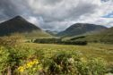 Looking north toward Beinn Dorian