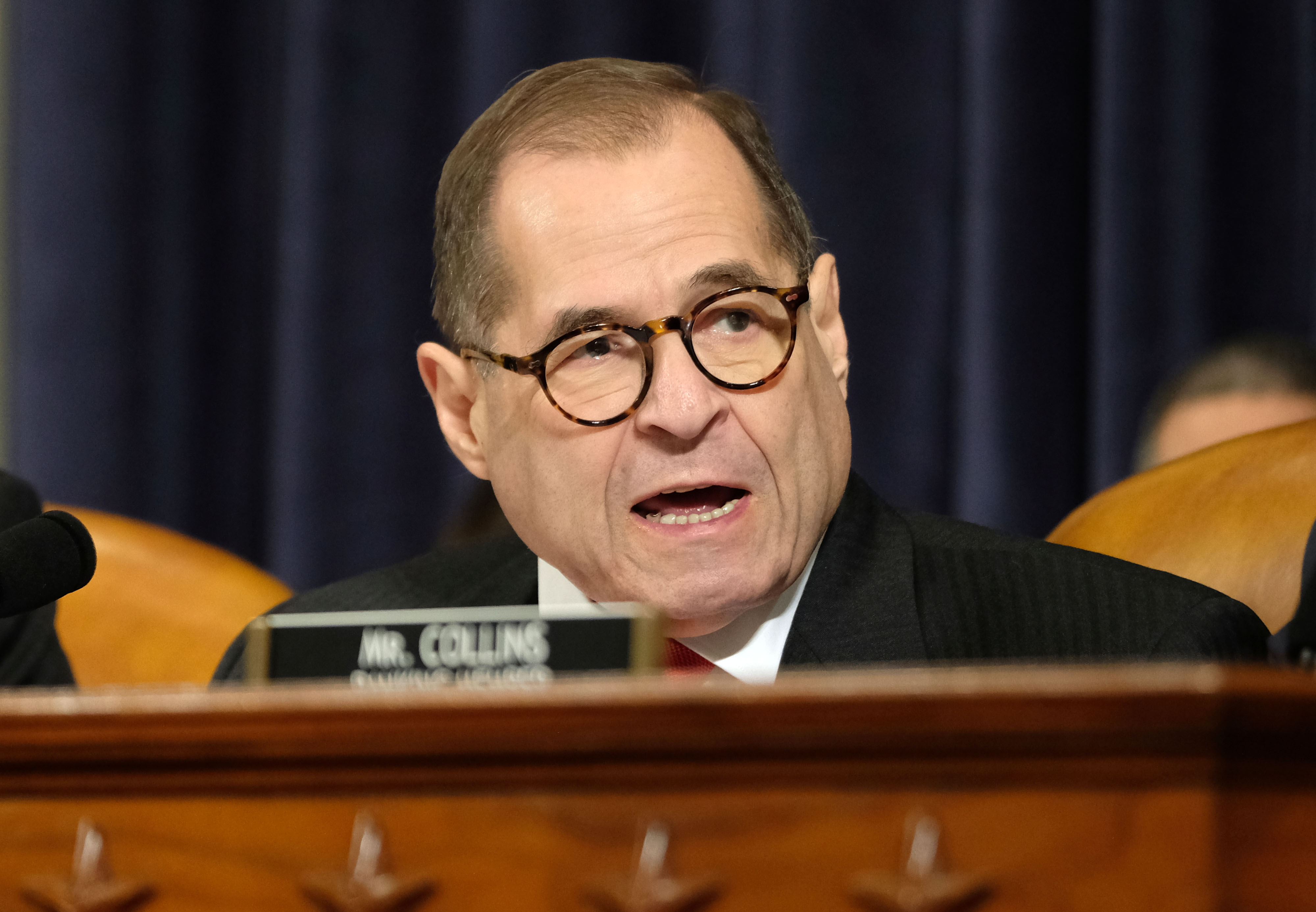 US House Judiciary Committee chief Jerry Nadler