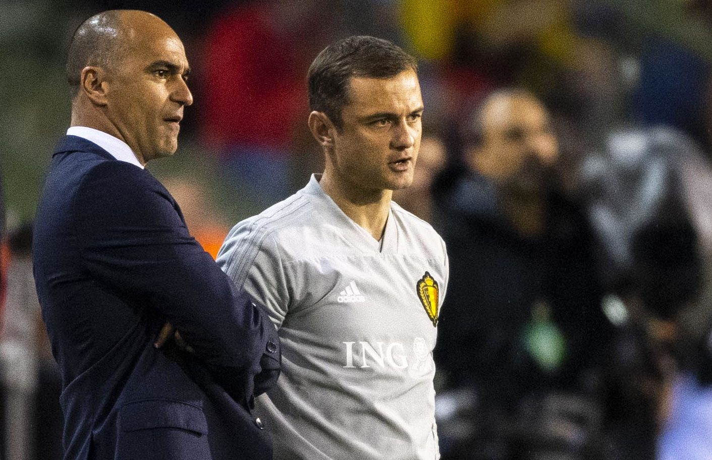Shaun Maloney and Roberto Martinez are now working together for Belgium, some 20 years after they arrived on the Scottish football scene